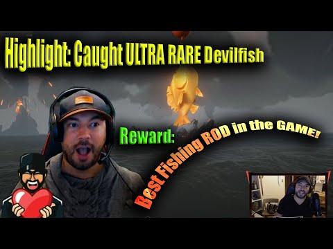 Highlight: Caught ULTRA RARE Forsaken DevilFish