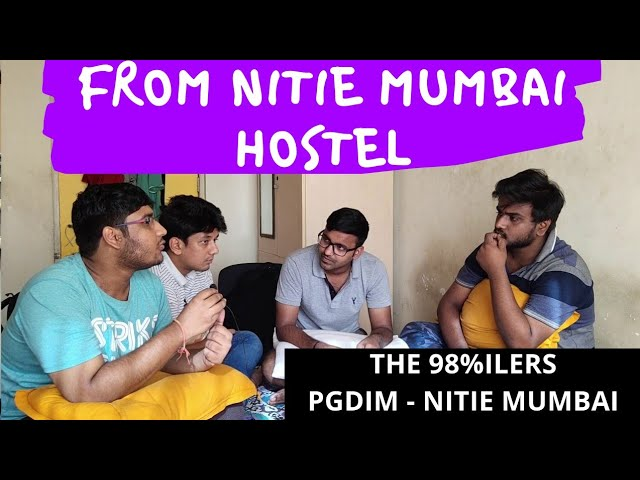 Straight from NITIE Mumbai Hostel - A message to CAT 2019 Aspirants