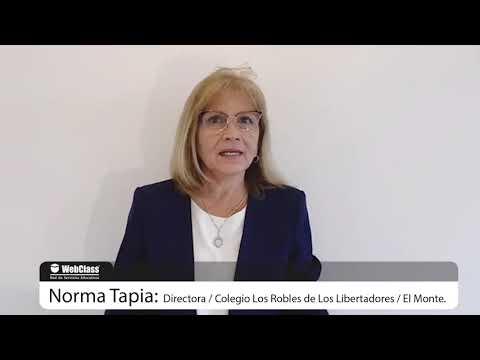 Testimonio WebClass Software - Directora Colegio Los Robles de Los Libertadores de El Monte 2020