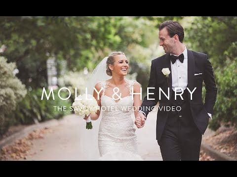 Savoy Hotel |Molly & Henry | The Savoy Hotel wedding video | London Wedding videographer