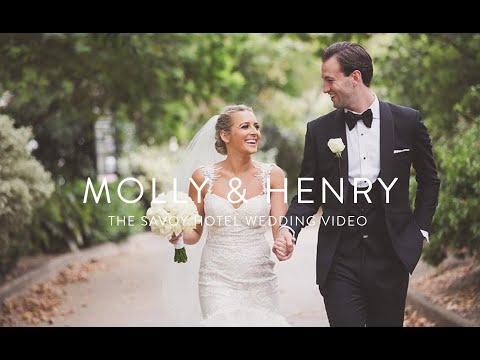 The Savoy Hotel   Molly & Henry   The Savoy Hotel wedding video   London Wedding videographer