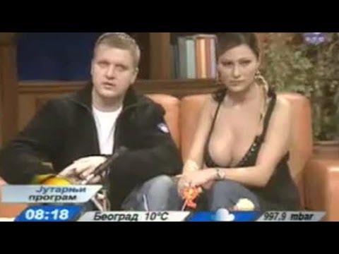 Смешные оговорки телеведущих в прямом эфире - IVONA bigmir)net