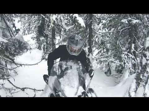 Making and breaking trails on the Ski-Doo Skandic SWT 900 ACE