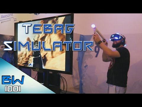 TeaBag Simulator - Farpoint on PSVR