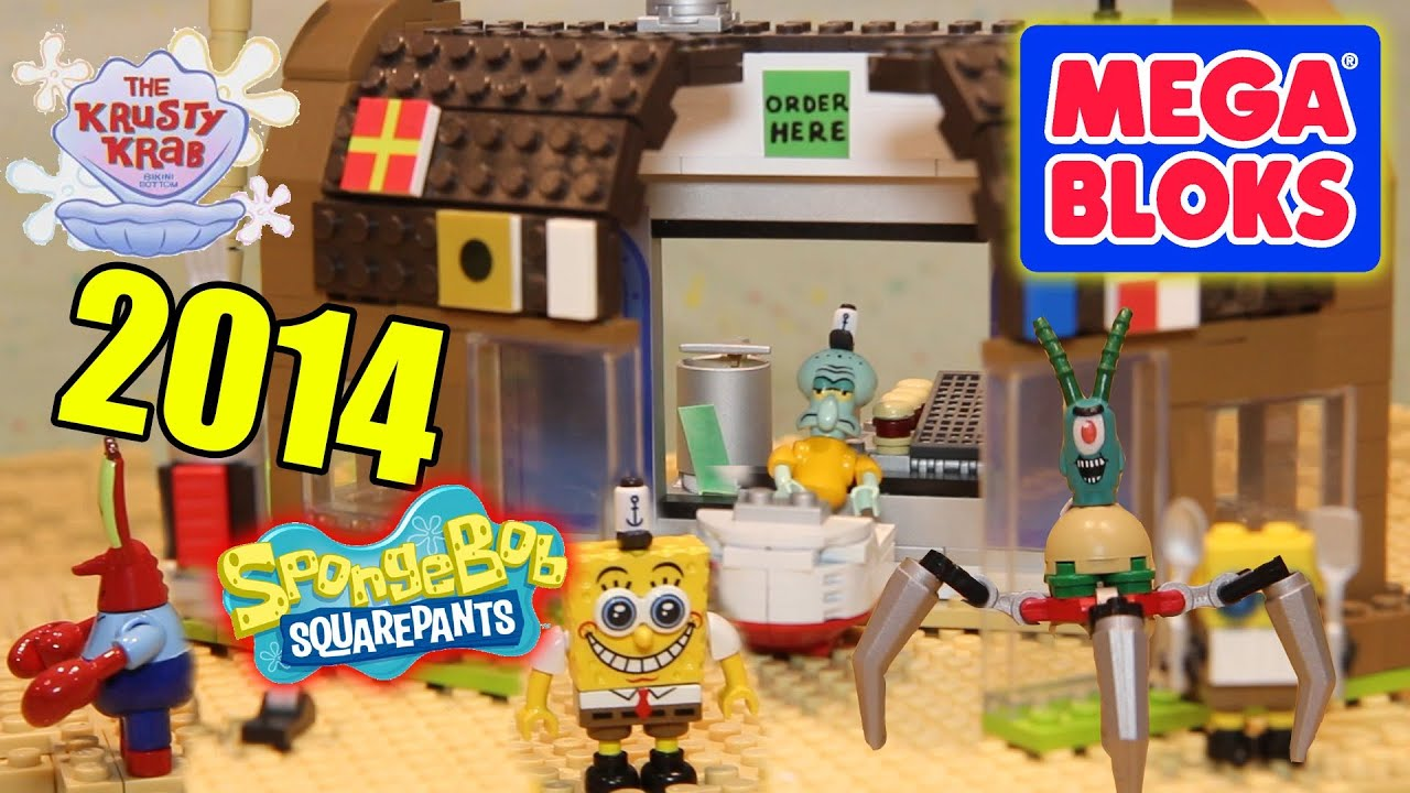 toys r us lego table and chairs ikea dining chair covers henriksdal spongebob mega bloks new 2014 sets at the york toy
