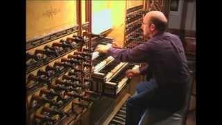 Willem van Twillert plays, Bach,Sinfonia Cantata BWV 29, Hinsz-organ Kampen