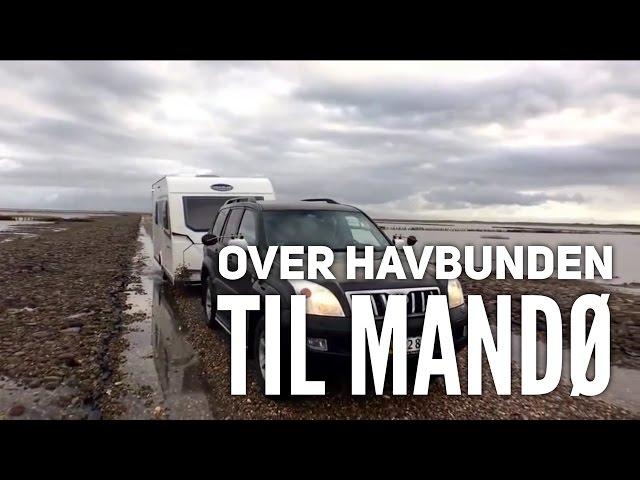 Over havbunden til Mandø - Del 1
