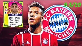 Tolisso 91 Review FIFA 18 (Festival of Football)