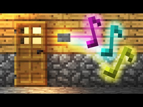 how to make a redstone door in minecraft pe