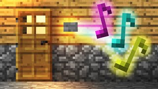 How To Build a Simple Doorbell! - Minecraft Tutorial