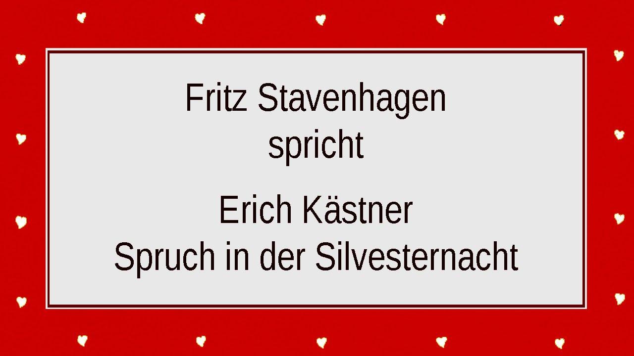 Erich Kästner Spruch In Der Silvesternacht