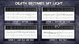 Kreator - Death Becomes My Light Tutorial | Full Tabs - Guitar Lesson (Guitar Pro)