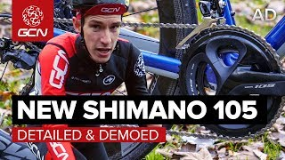 New Shimano 105 Groupset - Detailed & Demoed