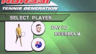 [Game Boy Advance] Agassi Tennis Generation