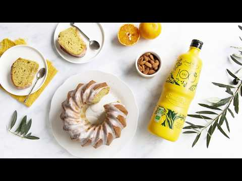gâteau-moelleux-orange-amande-à-l'huile-d'olive-bio-Émile-noël