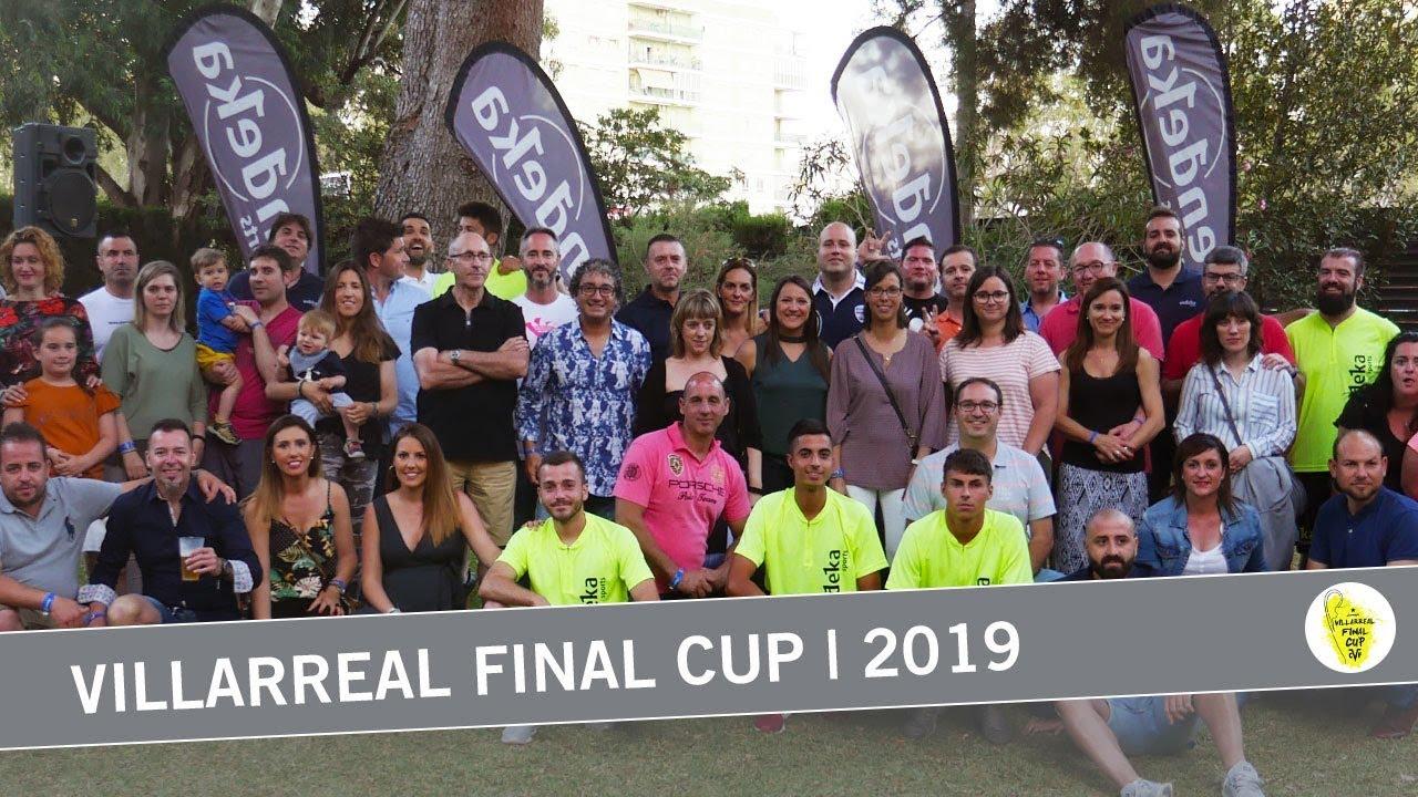 Bienvenida con cocktail exclusivo - Villarreal Final Cup | 2019