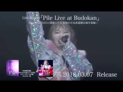 Pile - 3月7日発売LIVE Blu-ray「Pile Live At Budokan」トレーラー映像