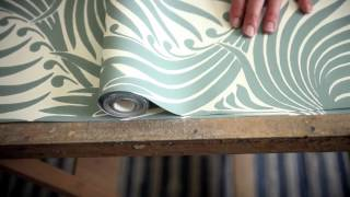 'Farrow & Ball: How to Hang Wallpaper' created by The Light Side