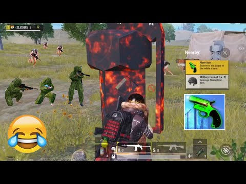 Trolling Noobs & Found Secret Flare Gun 😍😂 | PUBG MOBILE FUNNY MOMENTS