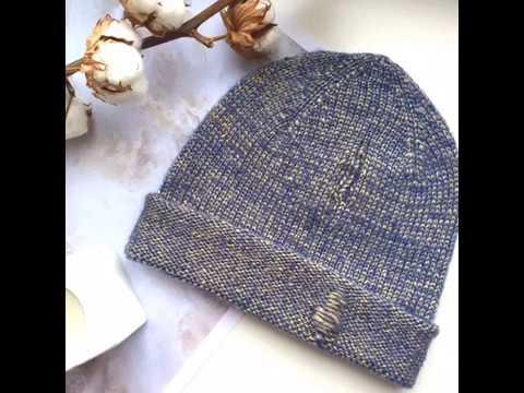 FeyaKnits вязаная шапка