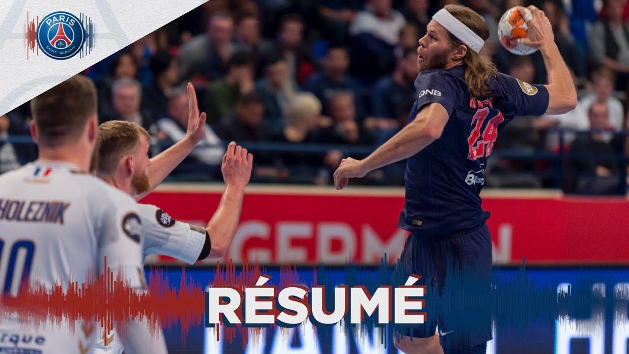 psg handball - dunkerque   le r u00e9sum u00e9