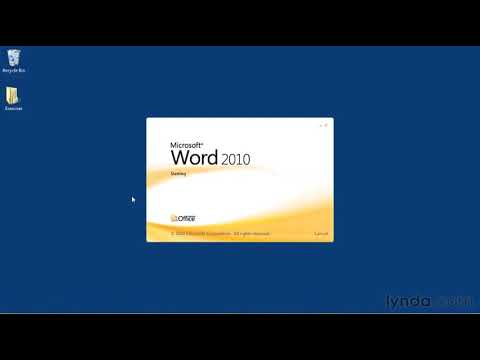How To Find And Open Microsoft Word Documents | Lynda.com Tutorial