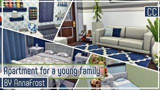 The Sims 4: Строительство | Квартира для молодой семьи