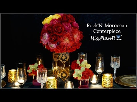DIY  Moroccan Wedding   Centerpiece  |  DIY  Decorations  |  DIY Wedding   Tutorial