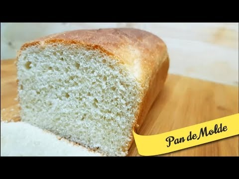 Pan de Molde - Receta Fácil - SIN MANTEQUILLA