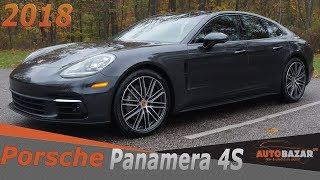 New 2018 Porsche Panamera 4S видео.  Теcт Драйв Новый Порше Панамера 4S на русском.