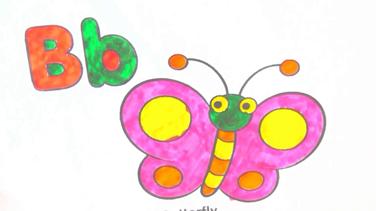 Coloring Pages Compilation How To Color A- Z Alphabet Drawing Kids ...