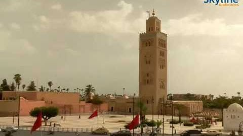 Live webcam Marrakesh - Time Lapse
