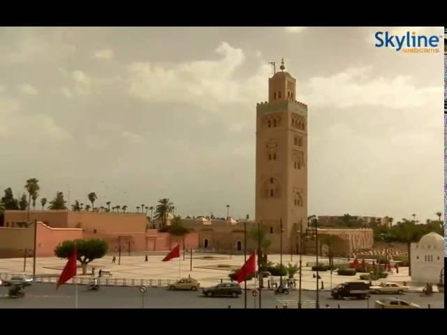 Live webcam Marrakesh - Time Lapse
