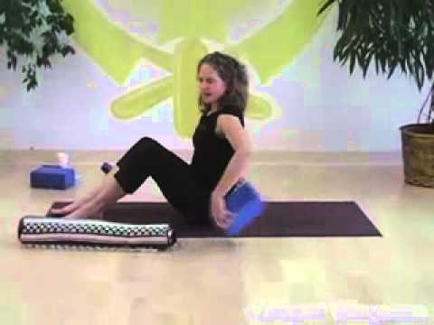 pain strength building upper back restorative yoga pose