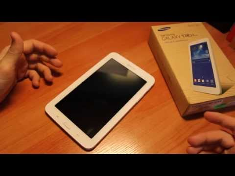 Обзор на Samsung GALAXY Tab 3 Lite