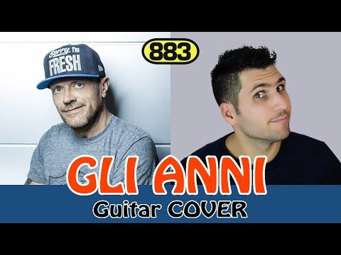 GLI ANNI - 883 MAX PEZZALI GUITAR COVER - MICHELE GUERRA