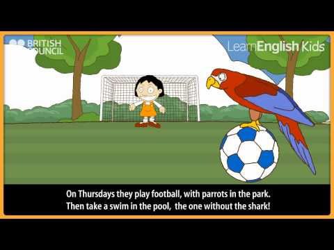 The twins week - Kids Stories - LearnEnglish Kids British Council