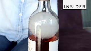 Device Preserves Unfinished Wine