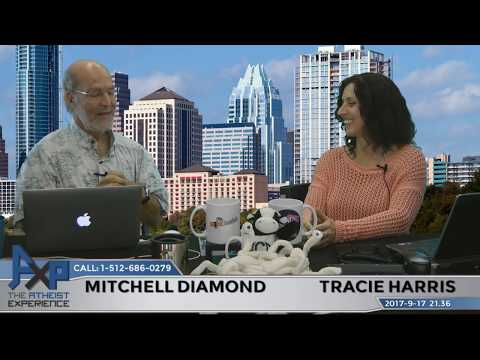 Atheist Experience 21.36 with Tracie Harris and Mitchell Diamond