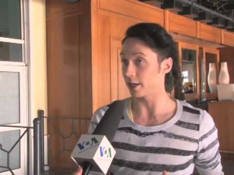 Johnny Weir Russian Interview for Voice of America