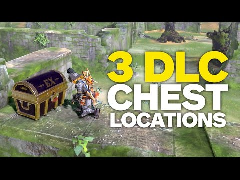 All DLC CHEST LOCATIONS in Zelda: Breath of the Wild