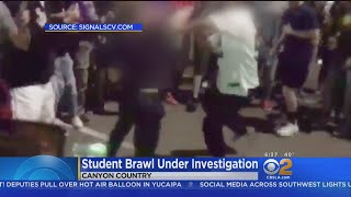 Caught On Video: Teens Brawl In In-N-Out Parking Lot