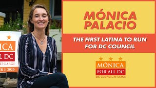 Elect Mónica, the First Latina Candidate to DC City Council