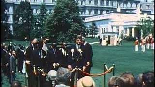 Mwalimu Julius Kambarage Nyerere's visit to the White House (Michuzi Blog)