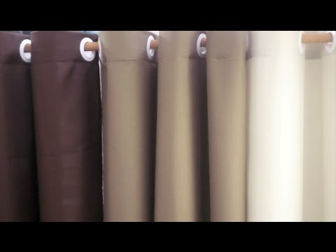 HOW TO MAKE EYELET CURTAIN - DIY