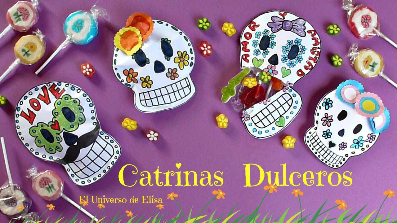 Cómo hacer una Catrina Dulcero para el Día de los Muertos, Day of ...