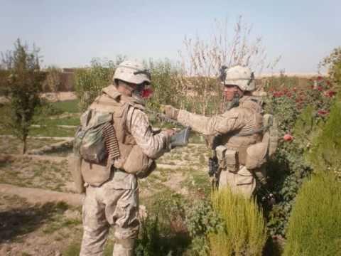 2/7 Echo 1 Charlie in Afghanistan 2008