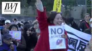 吉良佳子1222 再稼働反対 国会包囲 吉良佳子 検索動画 6