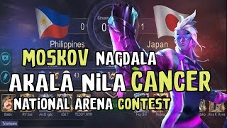 Team Philippines revenge on Team Japan National Arena! Akala nila Cancer Pick