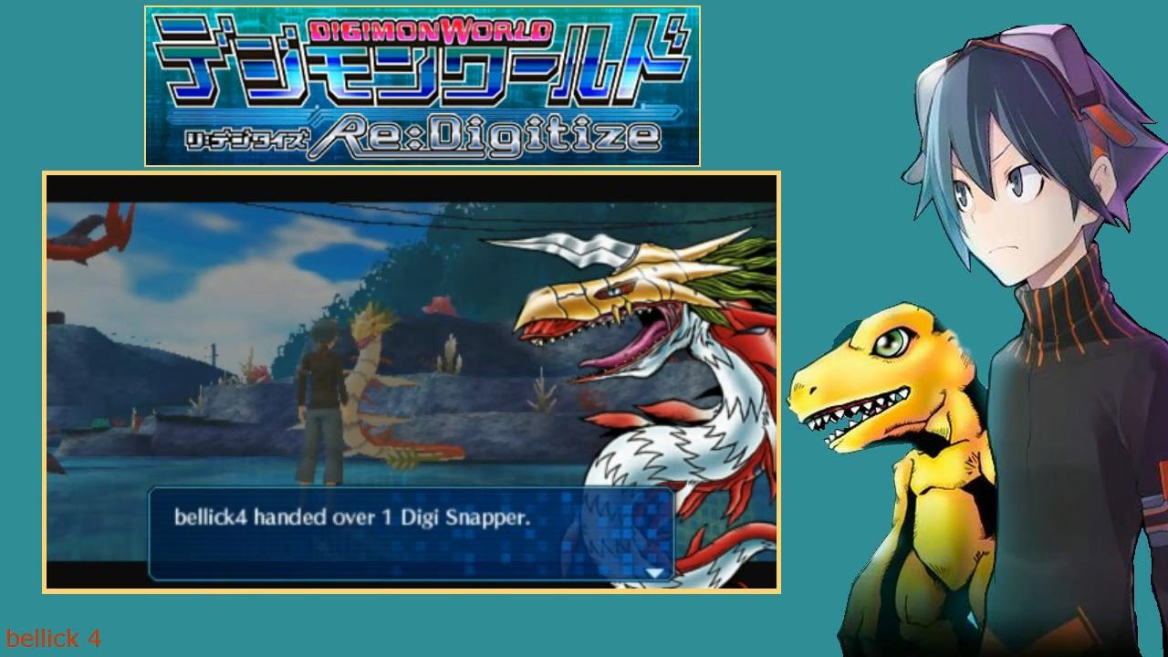 Digimon World Re:Digitize [English Patched] part 08 ...